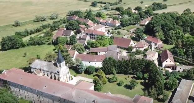 Vue aérienne de Rimont