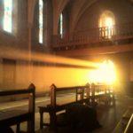 rayon de soleil dans la chapelle de Rimont 2