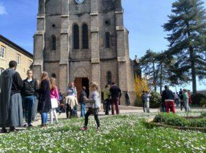 accueil après la messe